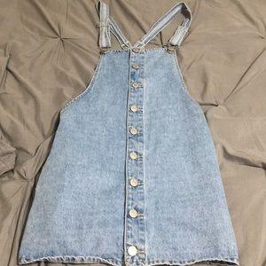 A jean dress